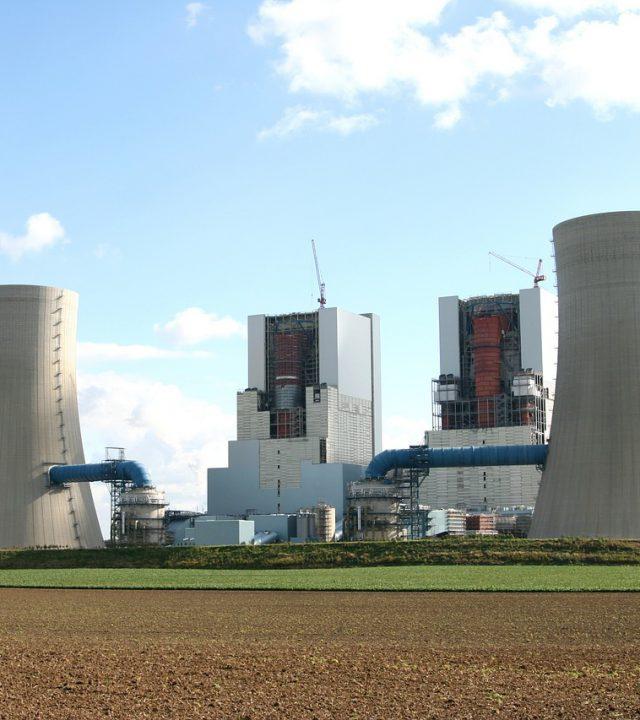 power plant, build, site